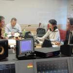 ラジオ出演(西山先生)